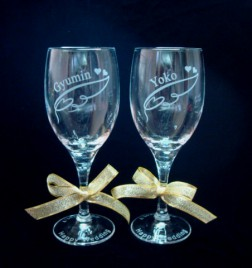 ワインペアーグラス2