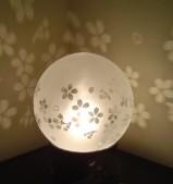陶器台付き 丸型スタンド 桜
