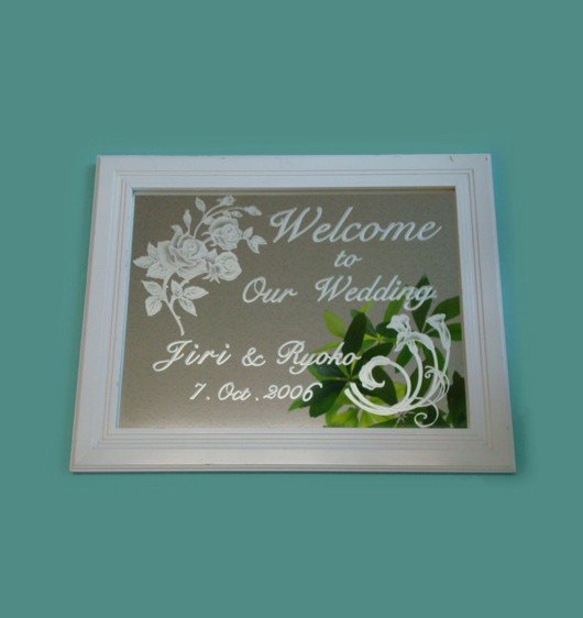 welcome_board_rose
